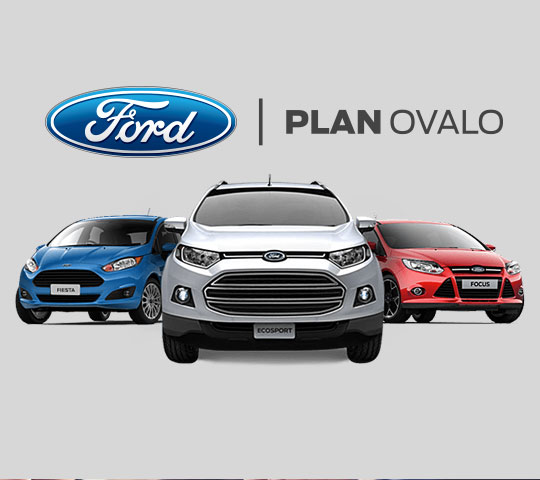 Planes Ovalo Ford
