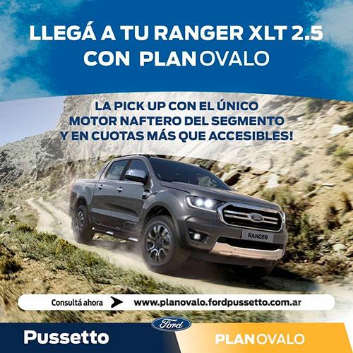 Oferta Ford Ranger XLT 2021 (15/04/21)