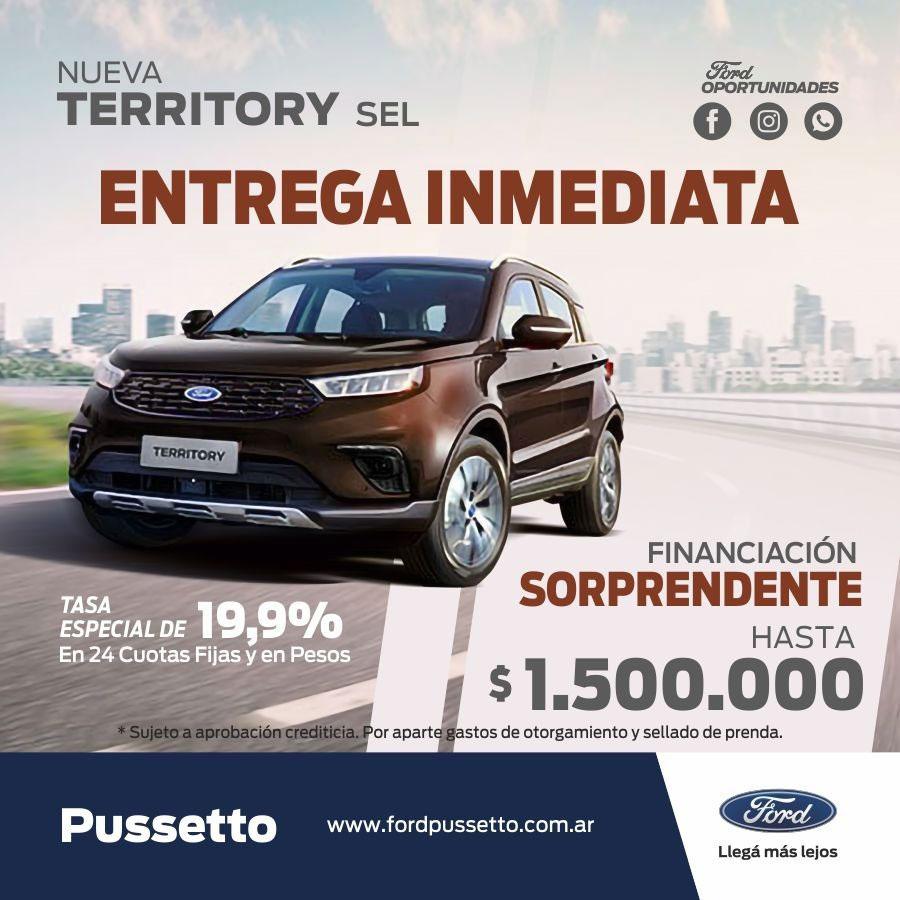 Oferta de Ford Territory (07/10/2021)