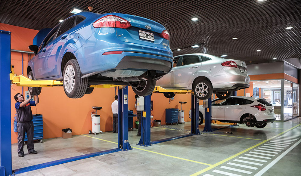 Taller Quick Lane en Ford